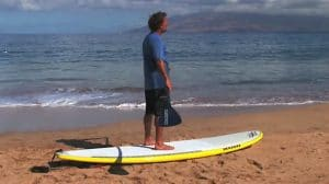 Comment se lever en Stand Up Paddle !