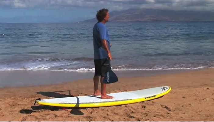Comment se lever en Stand Up Paddle !