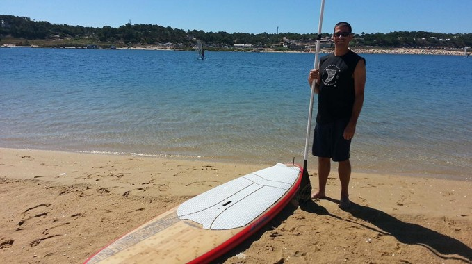 comment porte planche stand up paddle