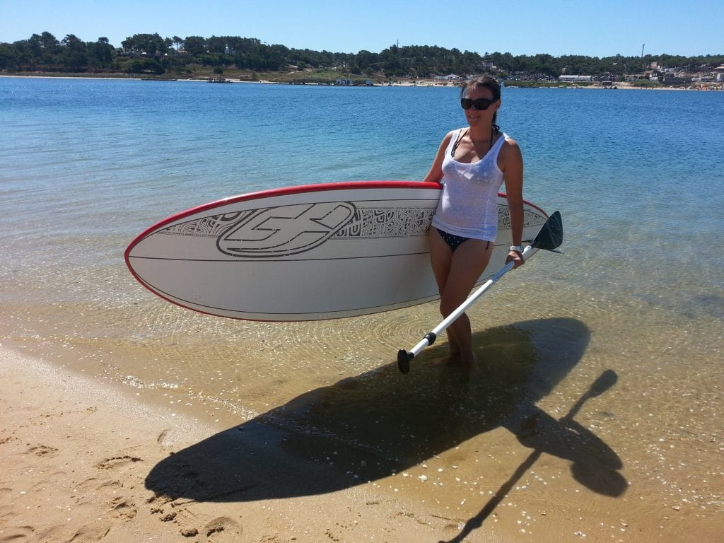 comment porter stand up paddle