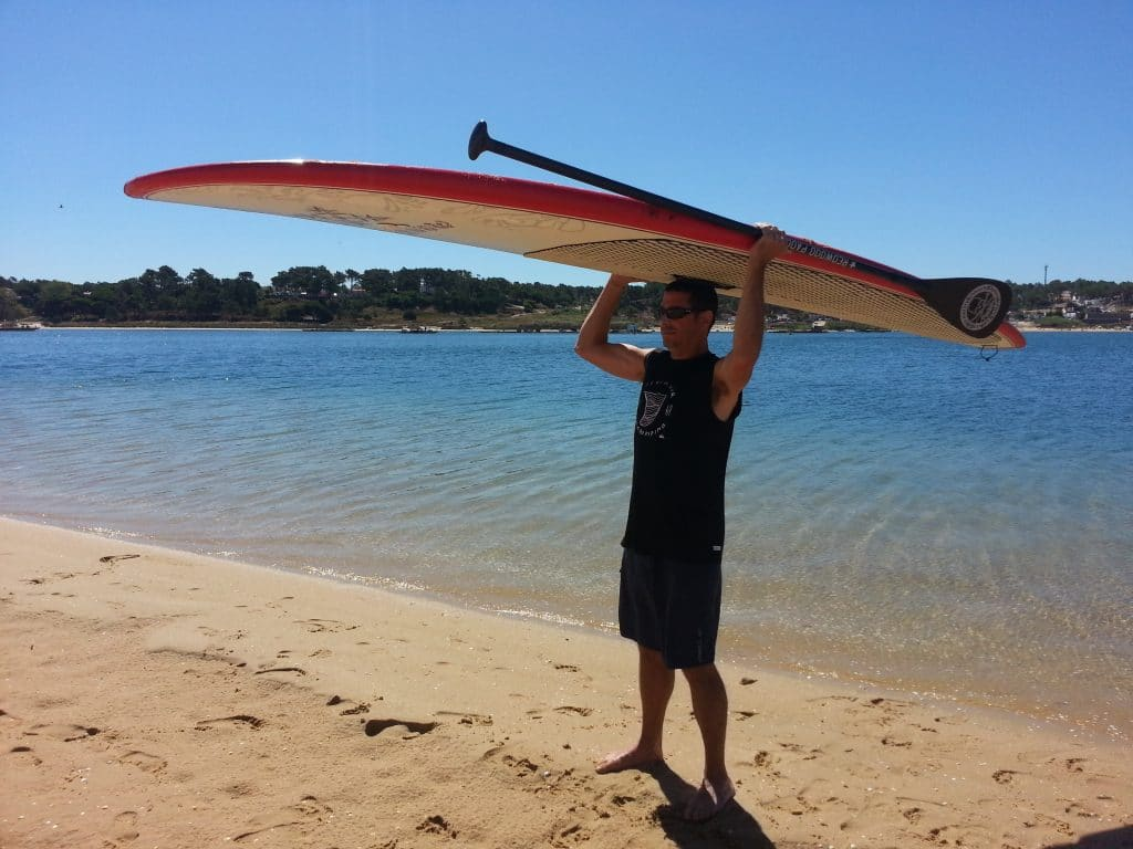 comment porter planche stand up paddle