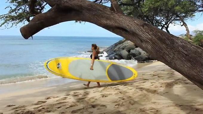 Leçon de stand up paddle avec Bic