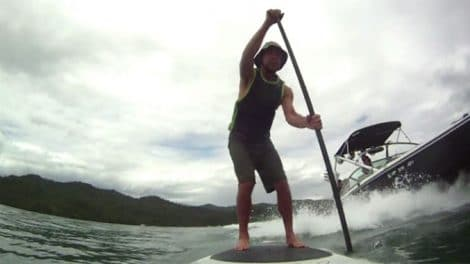 Video Gerry Lopez Stand Up Paddle
