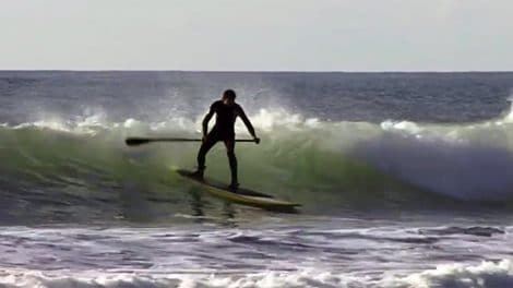 Apprendre le take off en stand up paddle avec Wapala.tv