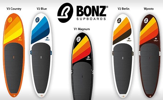 BONZ Supboards la nouvelle marque de Stand Up Padle d'Antoine Delpero