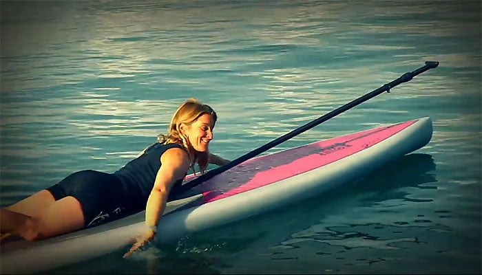 Comment ramer et faire demi tour en Stand Up paddle