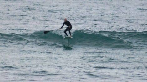 Incroyable, le Foil Stand Up Paddle !