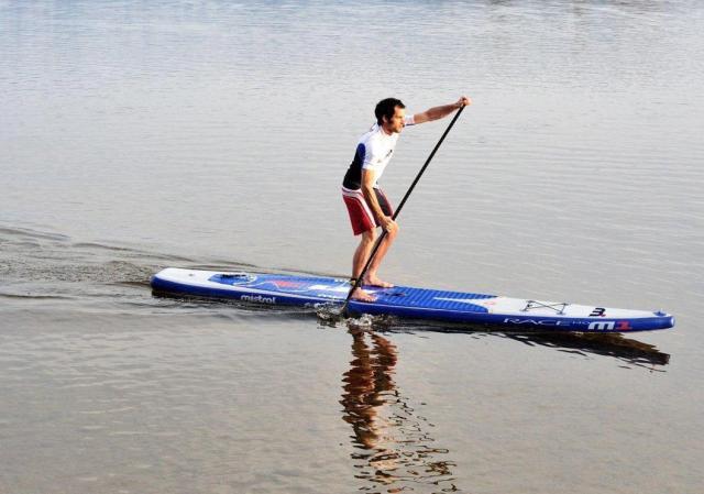 Mistral se lance dans le stand up paddle race gonflable