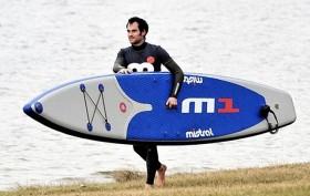 Mistral se lance dans le stand up race gonflable