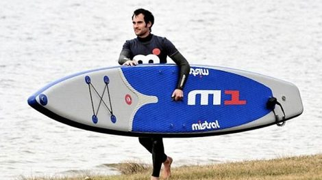 Mistral se lance dans le stand up paddle race gonflable