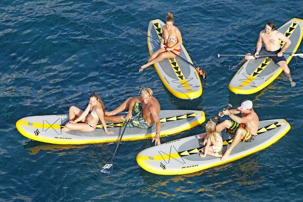 Naish Air Series Le Stand Up Paddle Gonflable Pour La Famille