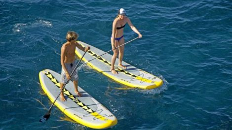 Naish Air Series, le stand up paddle gonflable pour la famille !