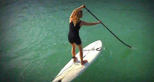 Apprendre à ramer droit en Stand Up Paddle