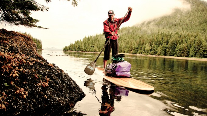Stand, une aventure en stand up paddle à travers la Great Bear Rainforest !
