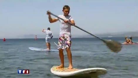 Le Stand up Paddle, suivez le prof au JT de TF1