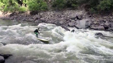 Descendre le fleuve Colorado en stand up paddle c'est possible