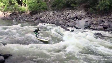 Descendre le fleuve Colorado en stand up paddle c'est possible