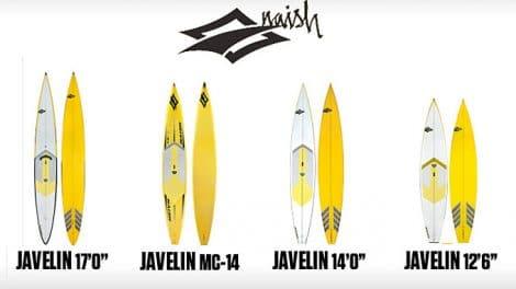 Javelin MC 14' gamme Touring et Racing de chez Naish Surfing