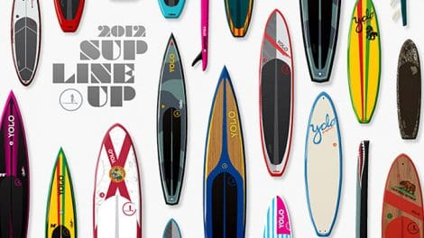 Yolo Board, du stand up paddle made in Floride
