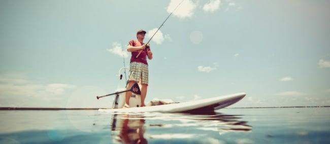 Pêche en Sup, joindre l'utile à l'agréable