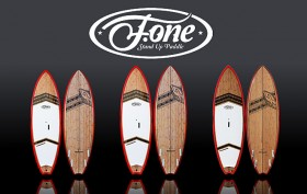 La gamme de stand up paddle F-One Madeiro