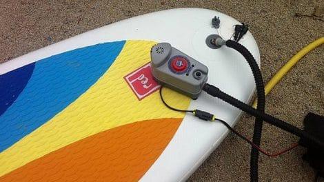 Pompe Bravo Bp12 électrique pour stand up paddle gonflable