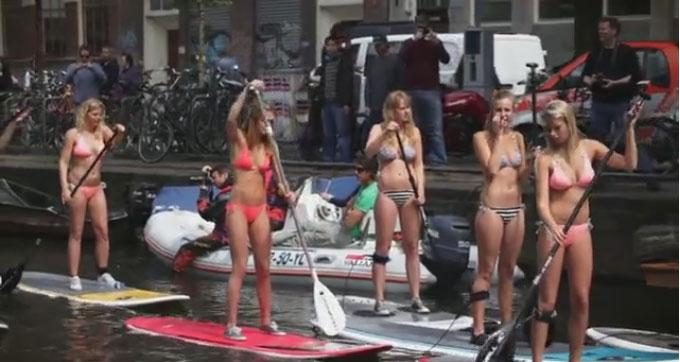 Vidéo O'Neill City Sup à Amsterdam