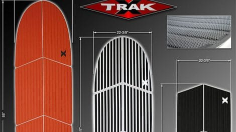 X-Trak stand up paddle pads