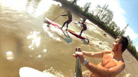 Les plus belles vidéos de stand up paddle sur mascaret ?