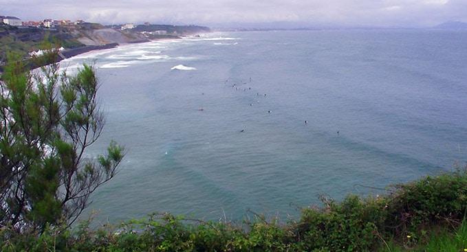 Le spot de la Côte des Basques à Biarritz en danger !