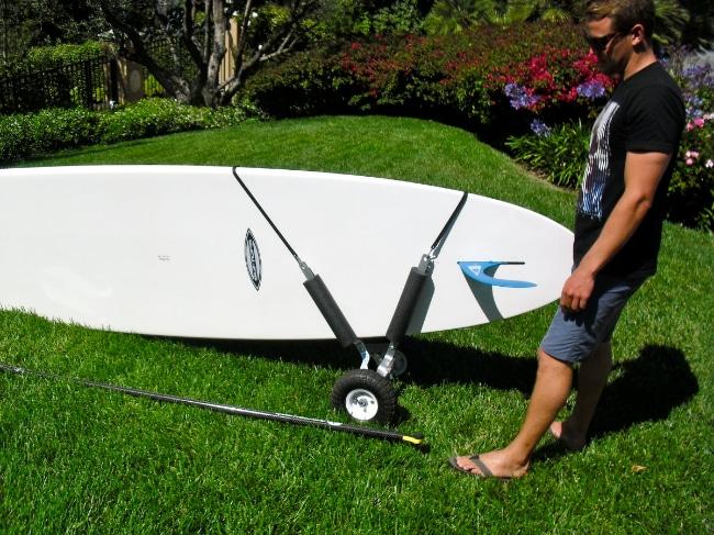 Jax trailer le chariot id al pour transporter son stand up paddle - Peut on coucher un refrigerateur pour le transporter ...