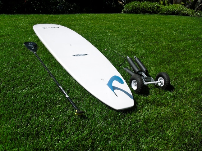 Jax Trailer le chariot idéal pour transporter son stand up paddle
