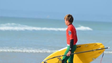 Ben Carpentier, stand up paddle surfing BZH