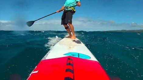 La maitrise parfaite du Downwind en stand up paddle