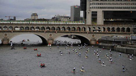 La Nautic SUP Paris Crossing dimanche 9 décembre 2012