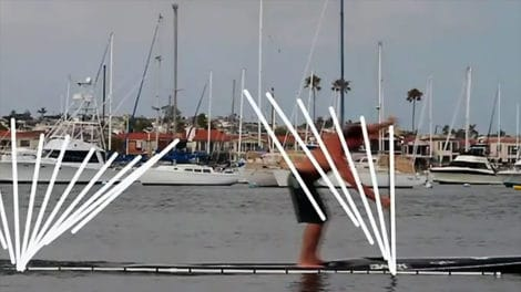 How to go fast with his stand up paddle