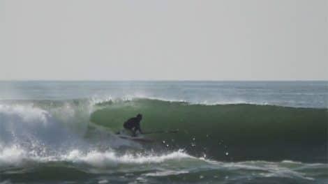 Sessions Stand up paddle en Bretagne avec de belles vagues