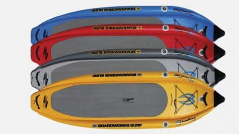 Badfisher, un stand up paddle gonflable venu du Colorado