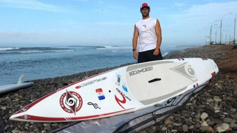 Mais qui est le champion de stand up paddle Eric Terrien ?