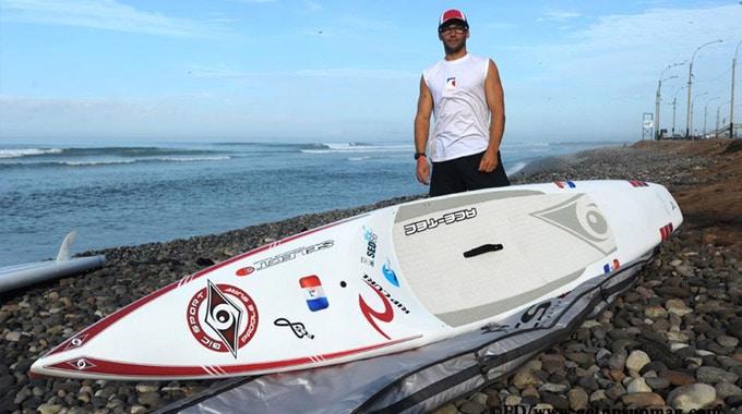 Mais qui est le champion de stand up paddle Eric Terrien ?