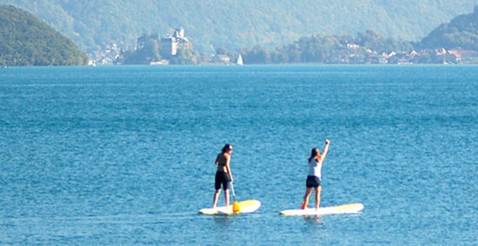 Le spot stand up paddle of the day : Annecy