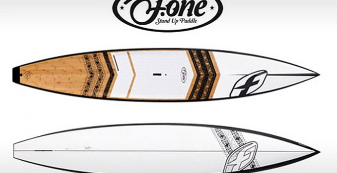 Nouveau stand up paddle F-one Race 14'0