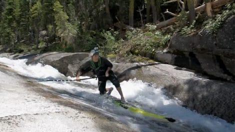 Faire du stand up paddle en rivière c'est possible !