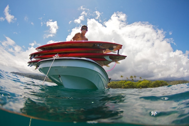 F-one, trip stand up paddle à Tahiti avec de superbes images
