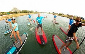 OctoSup, la nouvelle école 100% stand up paddle en Vendée