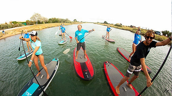 OctoSup, la nouvelle école 100% stand up paddle en Vendée