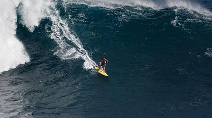 Les plus grosses vagues surfées en stand up paddle