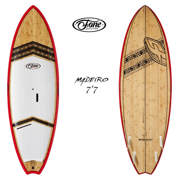 f-one stand up paddle madeiro 7'7