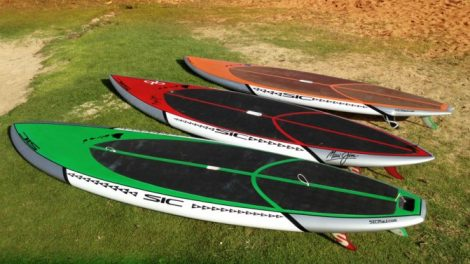 Sic Sandwich Island Composites Stand up paddle