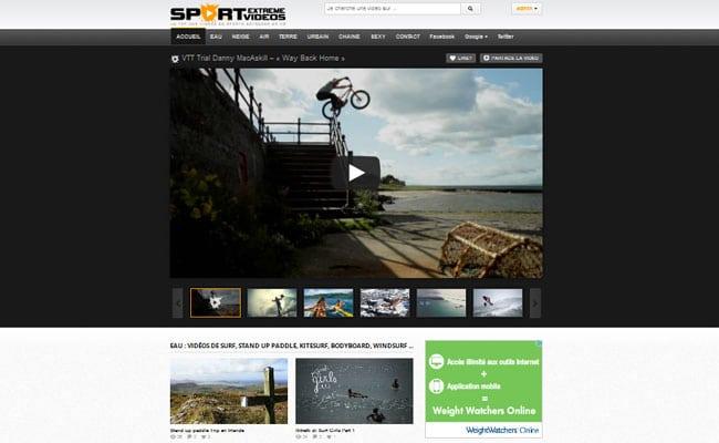 Sport-Extreme-Video.com, le nouveau site de la famille !